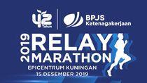 HUT Ke-42, BPJAMSOSTEK Gelar Relay Marathon