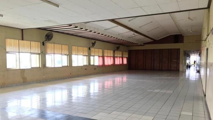 Aula SMK Yadika 6 Bekasi (Rolando/detikcom)