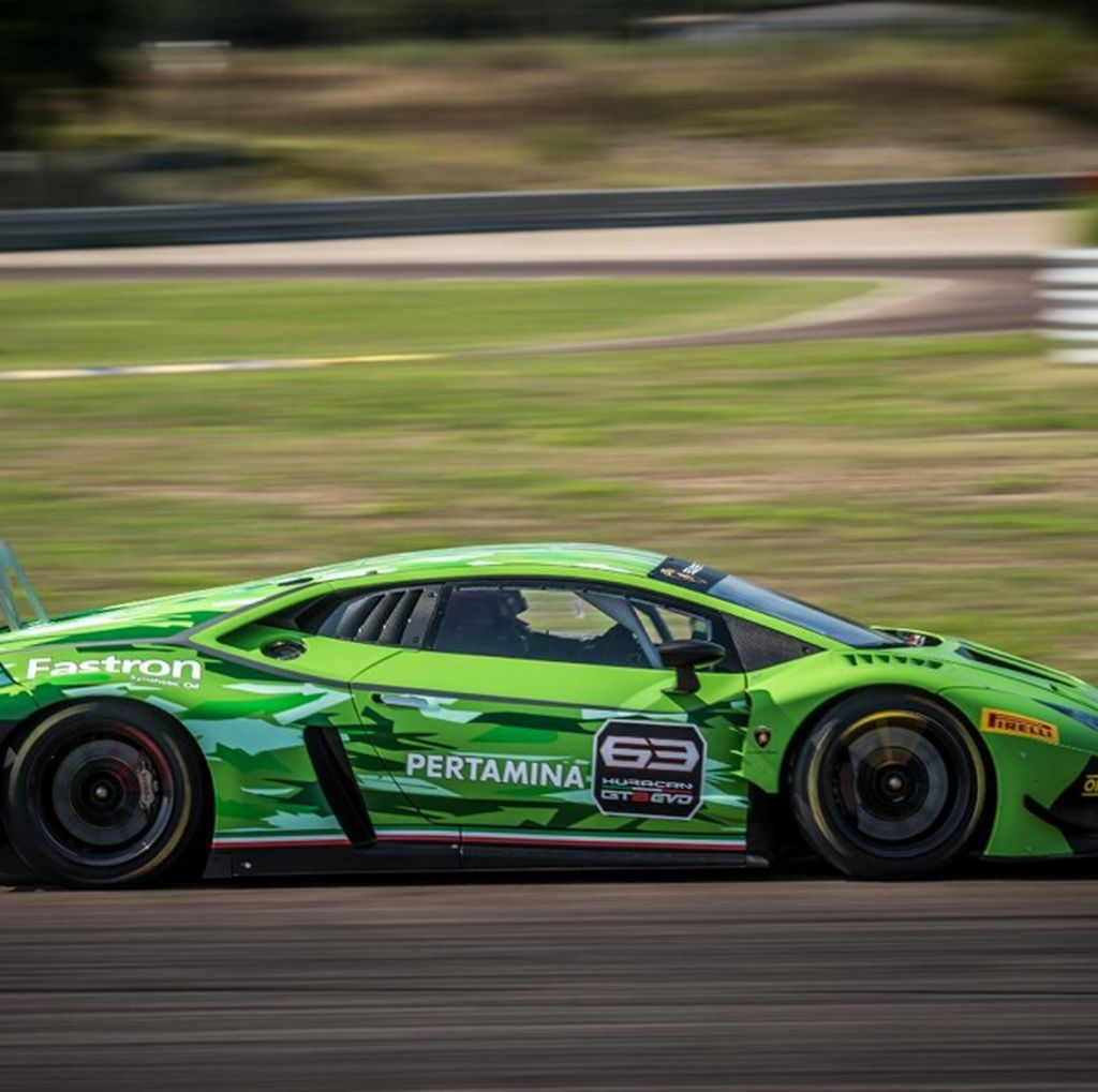 Pertamina Fastron Jadi Technical Partner Lamborghini Squadra Corse