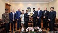 Bertemu Anggota Parlemen New Zealand, Mahfud: Mereka Dukung Papua Bagian RI
