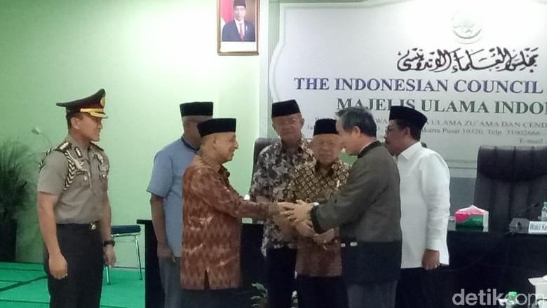 Wakili MUI, Maruf Amin Terima Bantuan Taiwan untuk Islamic Center di Palu
