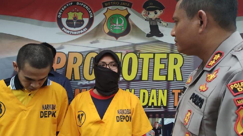 Selundupkan Sabu di Baju Anak untuk Suami di Rutan Depok, Heni Ditangkap