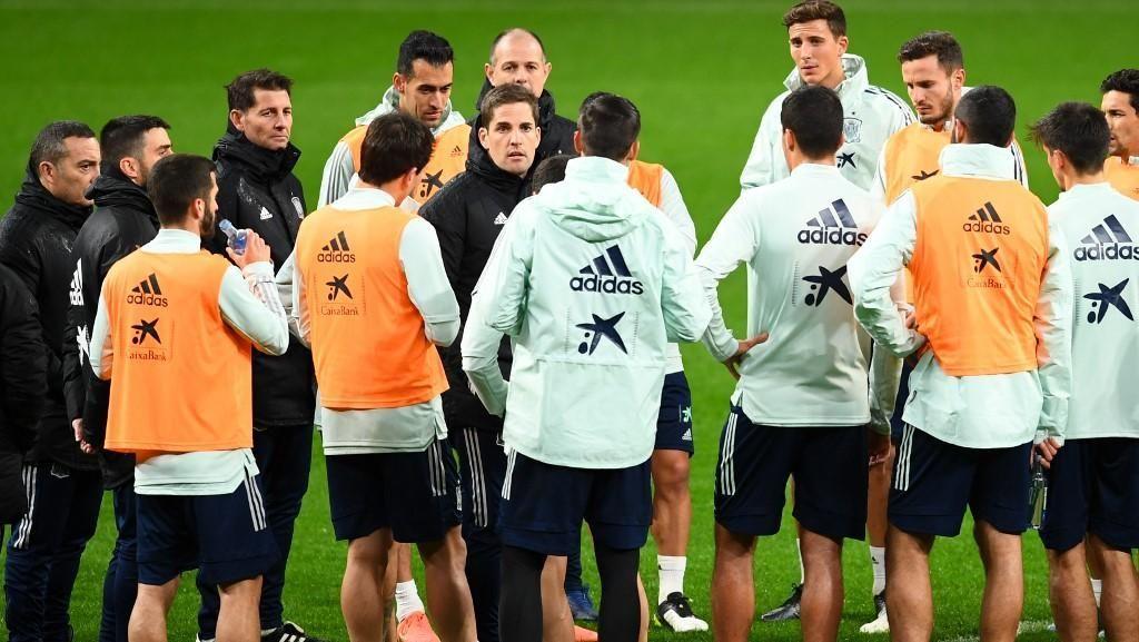 Robert Moreno Sudah Pamitan ke Skuad Spanyol