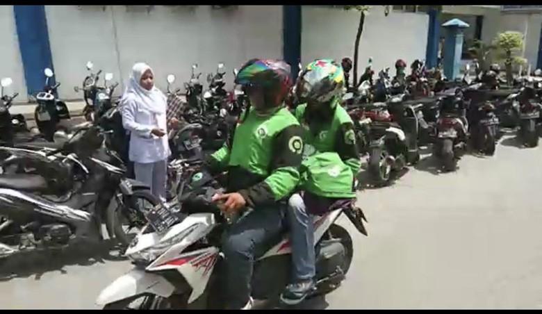 Nekat Bawa Lari Jenazah Bayi, Rombongan Ojol Minta Maaf ke RS