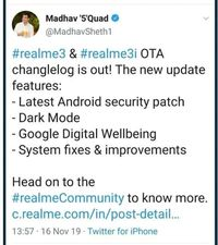Bos Realme India 'Tertangkap' Ngetweet' Pakai iPhone