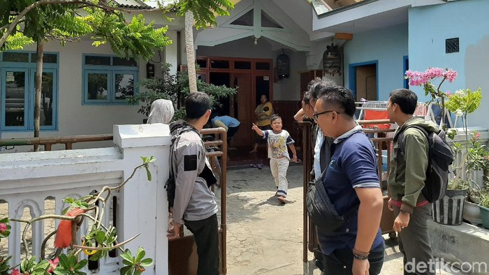 Rumah mantan istri yang akan dilempar petasan (M Rofiq/detikcom)