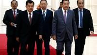 JK didampingi mantan MenPAN-RB Syafruddin dan Dubes RI untuk Kamboja, Sudirman Haseng.
