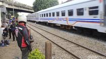 Pria Lansia Tewas Tertabrak Kereta Api di Cimahi