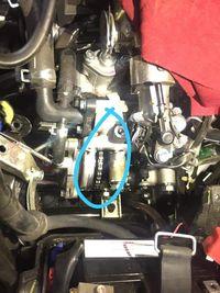 Sprocket cam pada Honda PCX.