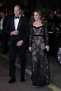Pangeran William dan Kate Middleton di Royal Variety Performance 2019.