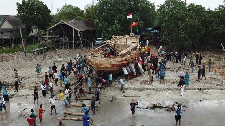 Kapal Padewakang Asal Makassar Akan Berlayar ke Australia, Bagian dari Film Dokumenter