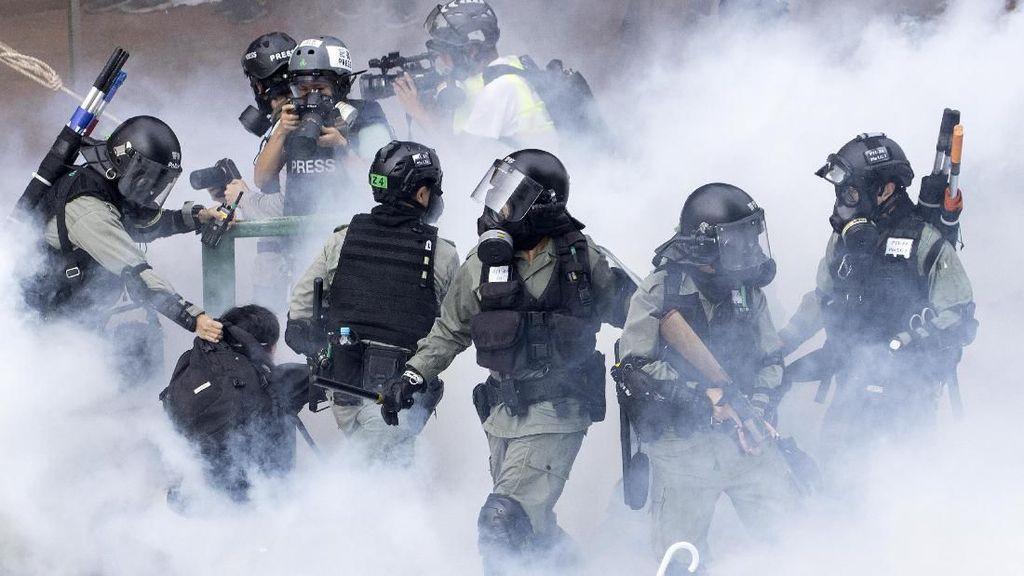 PBB Desak Hong Kong Cari Resolusi Damai Pengepungan di Kampus
