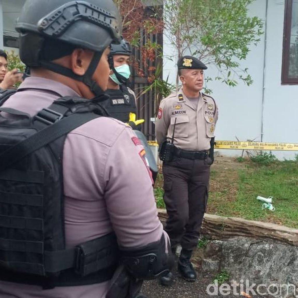 Ledakan di Kejari Parepare, Saksi Dengar Benda Dilempar ke Atap