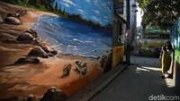 Seperti diketahui, Pemerintah Kota (Pemkot) Jakarta Utara tengah gencar mengusung pengecatan mural di berbagai kawasan di Jakarta Utara.