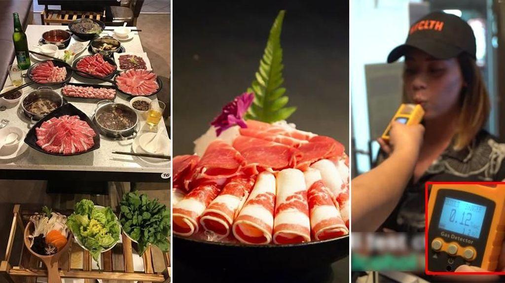 Restoran Hot Pot Ini Beri Diskon Spesial bagi Pengunjung Mabuk