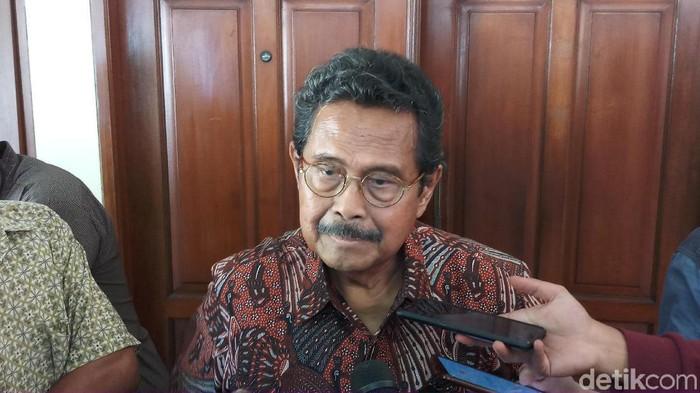 Politikus senior Partai Golkar, Fahmi Idris. (Farih Maulana Sidik/detikcom)
