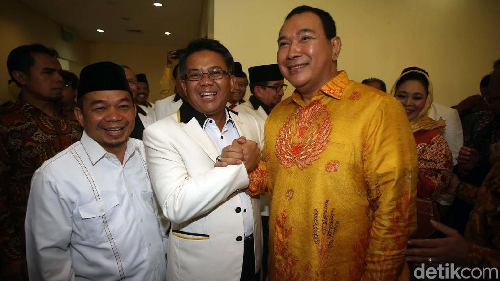 Momen Tommy Soeharto Bertemu Presiden PKS