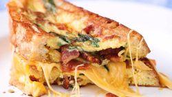 Resep Telur : Omelet Keju Panggang