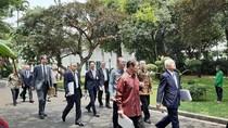 Jokowi Bahas Banyak Mega Proyek Bareng Pengusaha Kakap Jepang