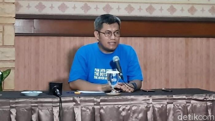 Direktur Utama PAM Jaya Priyatno Bambang Hernowo (Dwi Andayani/detikcom)