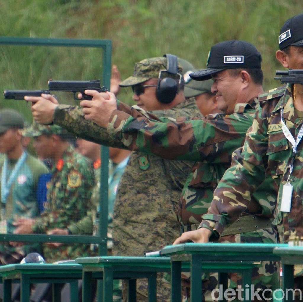 Melihat Tentara ASEAN Adu Tembak di Cipatat