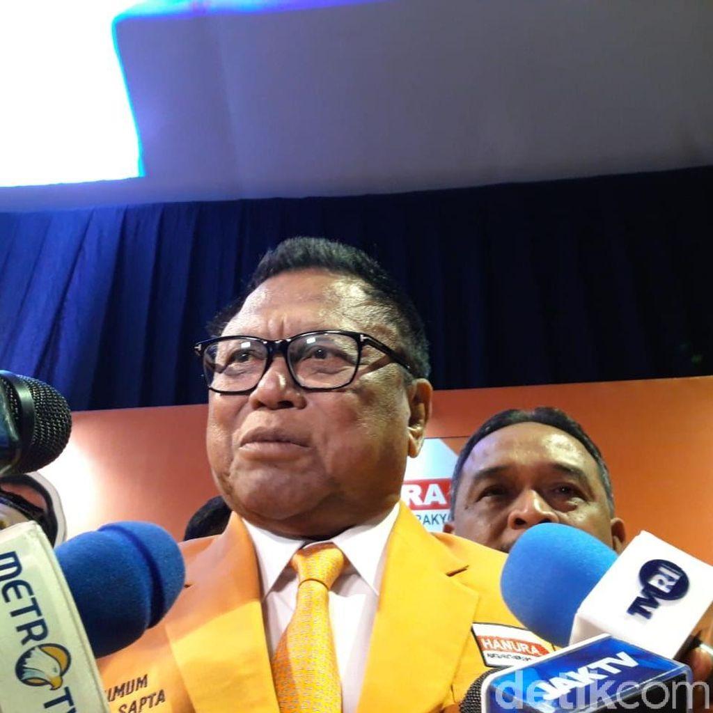 Diminta Pimpin Hanura Lagi, OSO Tak Tutup Pintu untuk Calon Ketum Lain