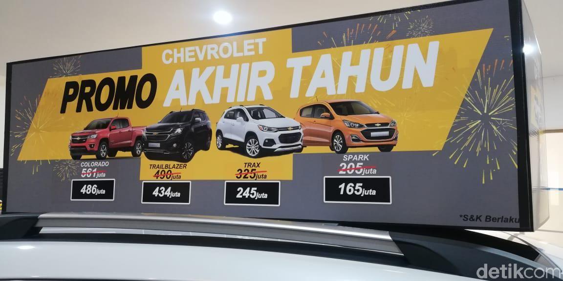 Chevrolet setop jualan di Indonesia mulai akhir Maret 2020.