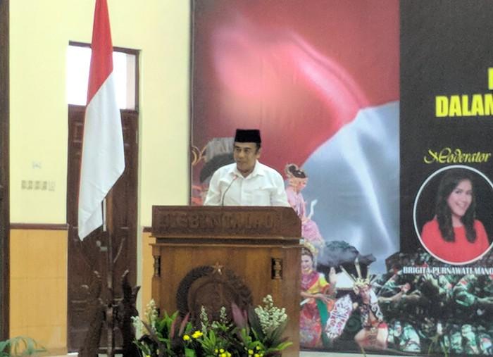 Menag Fachrul Razi (Jefrie Nandy/detikcom)