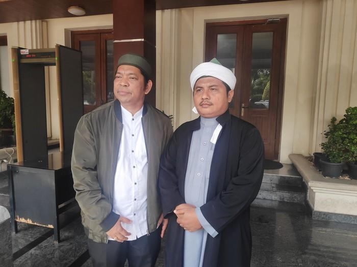 Rektor UIN Sumut-Tuan Guru Batak menemui Mahfud Md (Matius Alfons/detikcom)