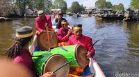 Ramai Arak-arakan Pearhu di Rammang-rammang, Ada Acara Apa?