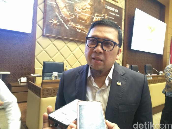 Foto: Ketua Komisi II Ahmad Doli Kurnia Tanjung (Azizah/detikcom)