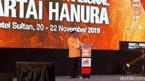 Buka Rapimnas Hanura, OSO Puji Kader Tak Goyah Rayuan Pengkhianat Partai