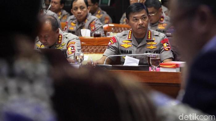 Kapolri Jenderal Idham Azis (Lamhot Aritonang/detikcom)