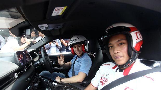 Marcus Gideon Geber Toyota GR Supra