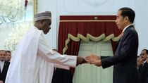 Jokowi Terima Surat Kepercayaan Dubes 14 Negara, Dari UE hingga Nepal