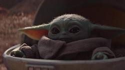 Dari Semesta Star Wars di The Mandalorian, Baby Yoda Curi Perhatian