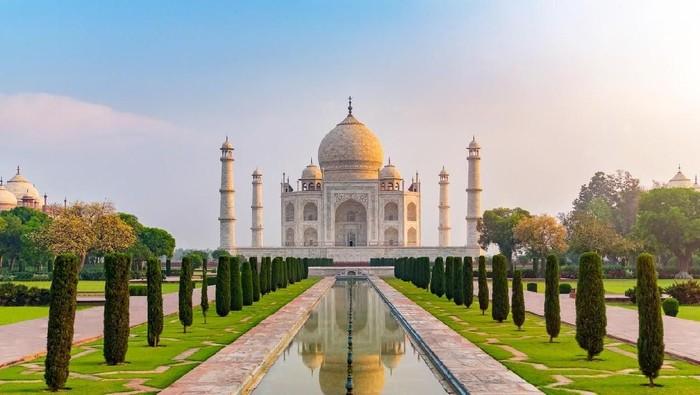 Foto: Taj Mahal di India  (iStock)