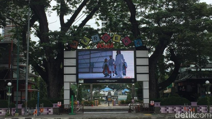 Lapangan Merdeka Medan Sumut (Khairul Ikhwan/detikcom)