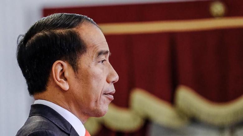 Jokowi soal SKT FPI: Urusan Menteri, Masa Sampai Presiden