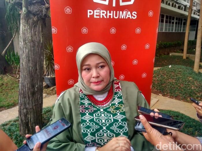 Ketua Perhumas BPC Kota Bandung N. Nurlaela Arief (Foto: Mochamad Solehudin/detikcom)
