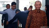 Pimpinan KPK Sambangi Mahkamah Konstitusi
