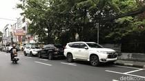 Marka Lahan Parkir di Juanda Jakpus Jadi Sorotan karena Serobot Badan Jalan