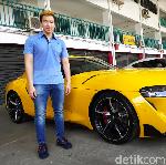 Marcus Gideon Pembeli Pertama Toyota GR Supra di Indonesia