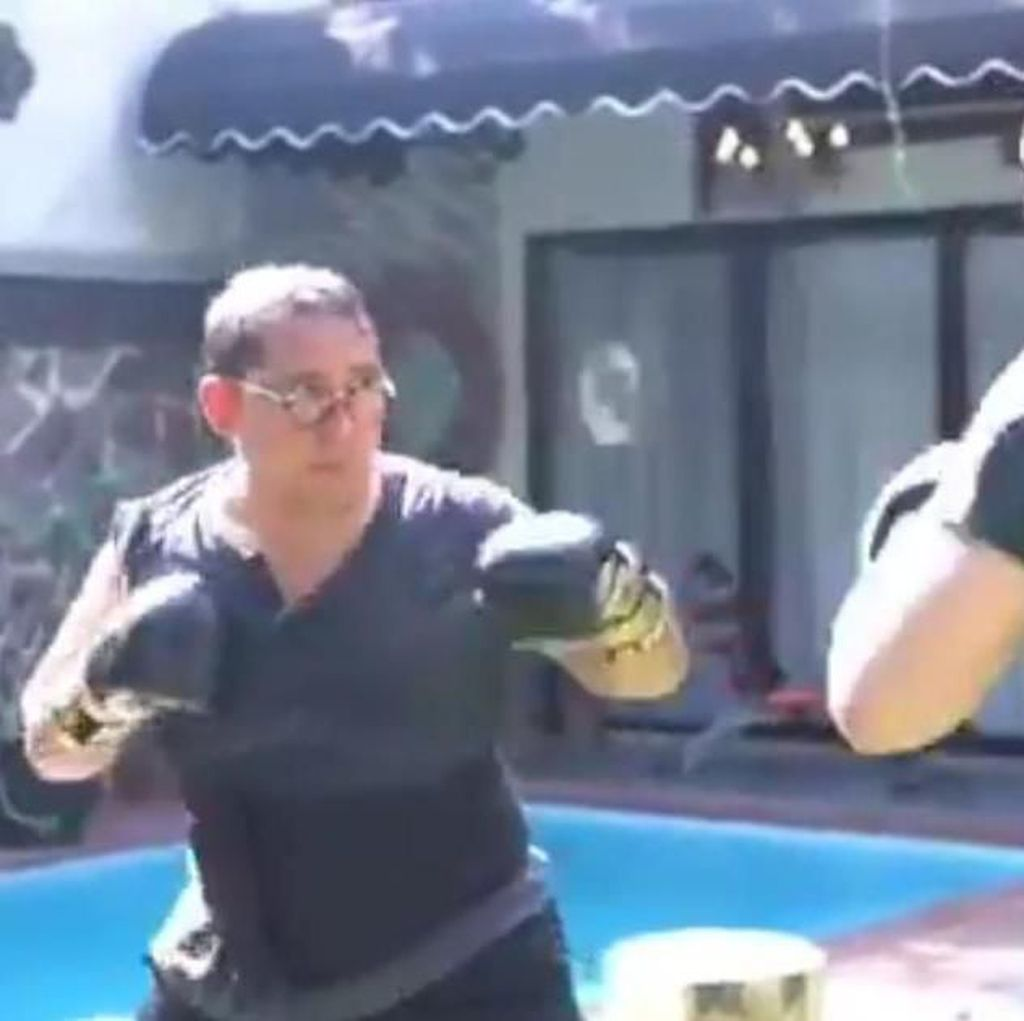 Video Gaya Fadli Zon-Fahri Hamzah Latihan Tinju