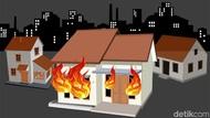 Kebakaran Rumah di Cilincing Jakut, Diduga Korsleting Listrik
