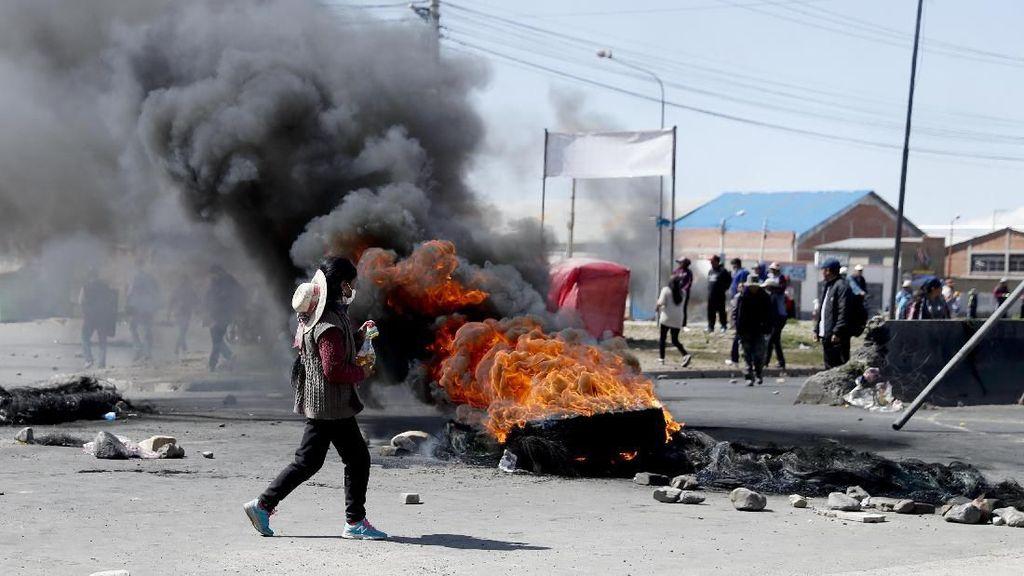 3 Orang Tewas Imbas Kericuhan di Bolivia