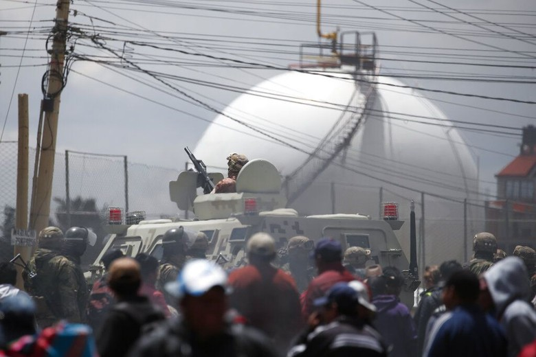 Ricuh Dekat Pabrik Bahan Bakar Bolivia, 3 Orang Tewas