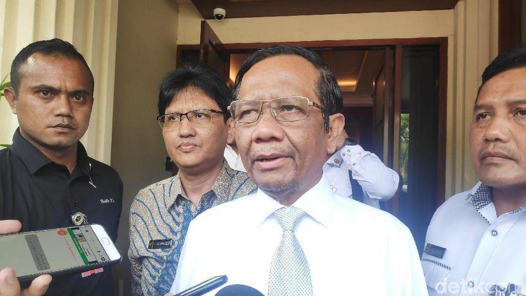 Bertemu Dubes Korsel, Mahfud Bahas Kunjungan Jokowi-Kerja Sama Bilateral