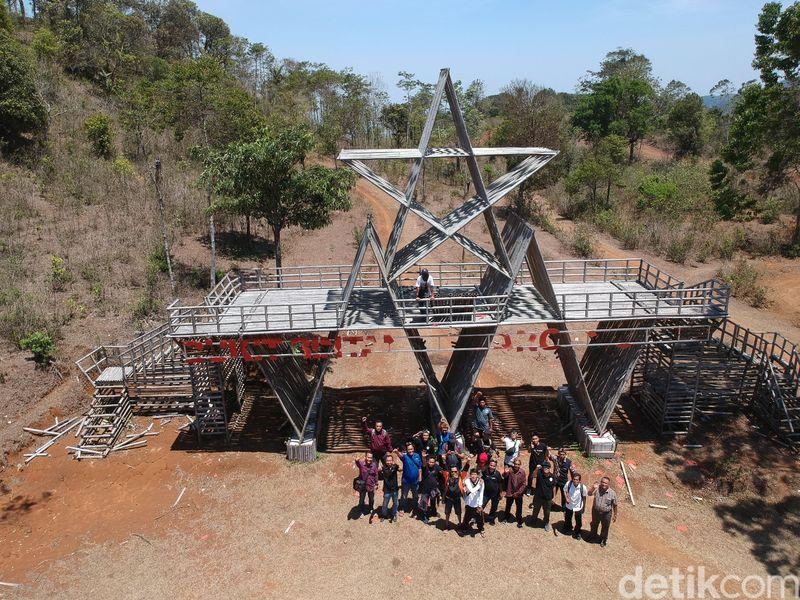 Bukit Bintang berlokasi di Desa Capar, Kecamatan Salem, Kabupaten Brebes, Jawa Tengah (Foto: Imam Suripto/detikcom)