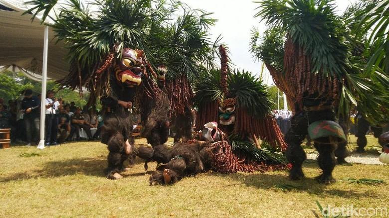 Festival Rengkuh Galuh di Ciamis (Foto: Dadang Hermansyah/detikcom)